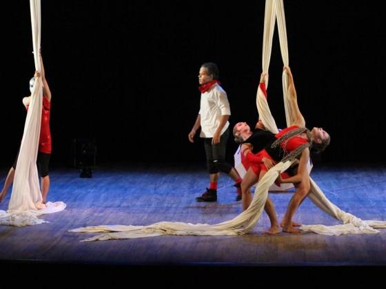 Aerial workshop - tissu aérien, danse