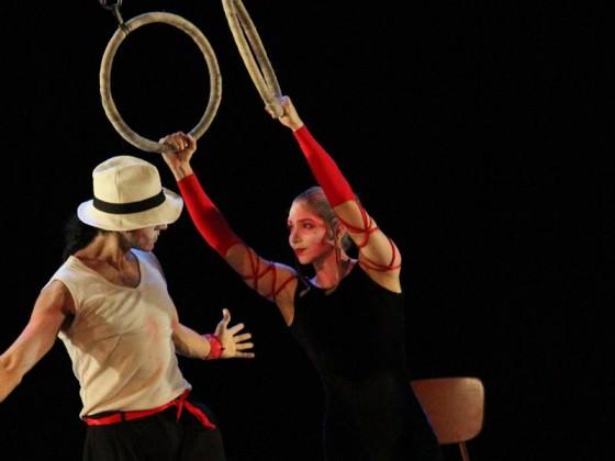 Hoop dancers - numéros, art du cirque
