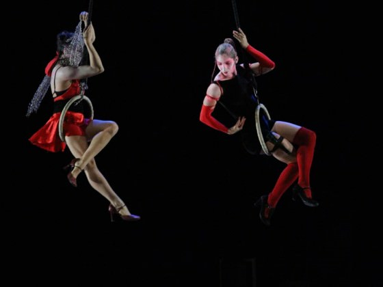 Création artistique - aerial dance, hoop