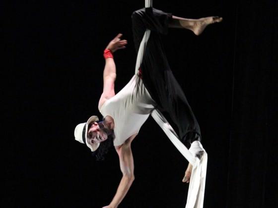Aerial dance - show, aerial workshop