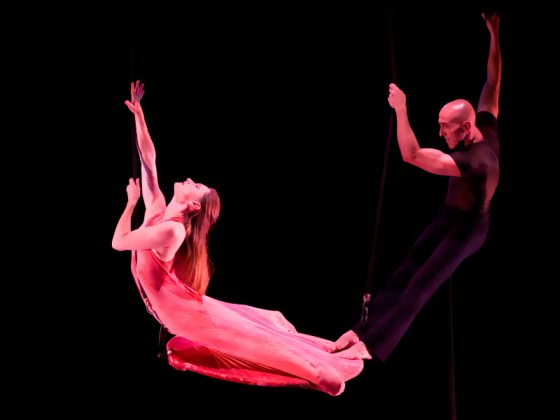 Aerial dance show - cirque contemporain