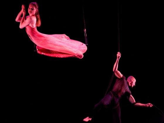 Aerial dance show - aerial dance
