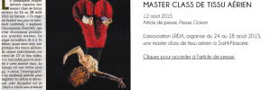 Presse océan_Actualités_master class