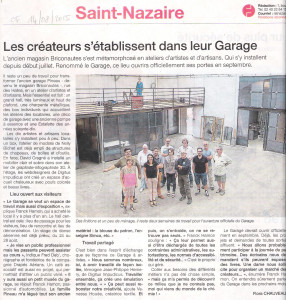 OuestFrance_LeGarage 14-08-2015